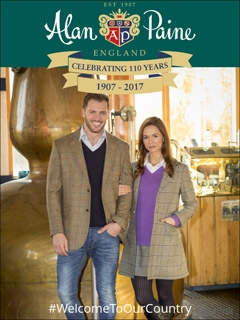 Alan Paine Knitwear for a Country Look