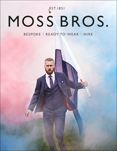 Moss Bros Suit - Look the Part!