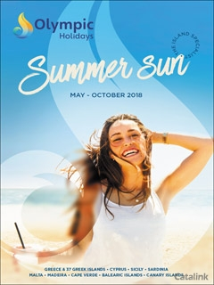 Olympic Holidays Summer Sun Brochure