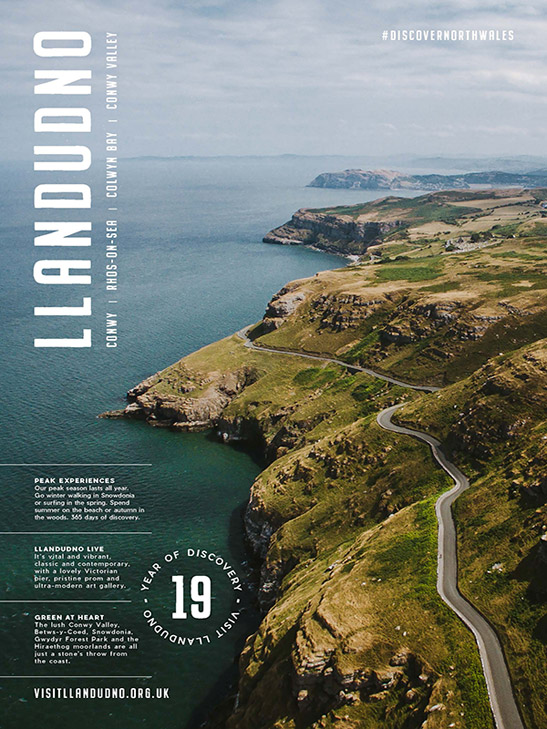 visit llandudno brochure